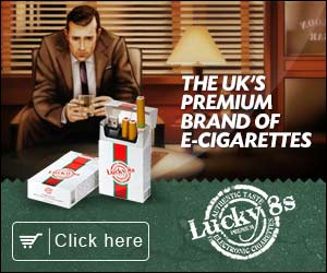 The Lucky 8s Product Range- e-Cigarettes And Accessories- Lucky8s UK