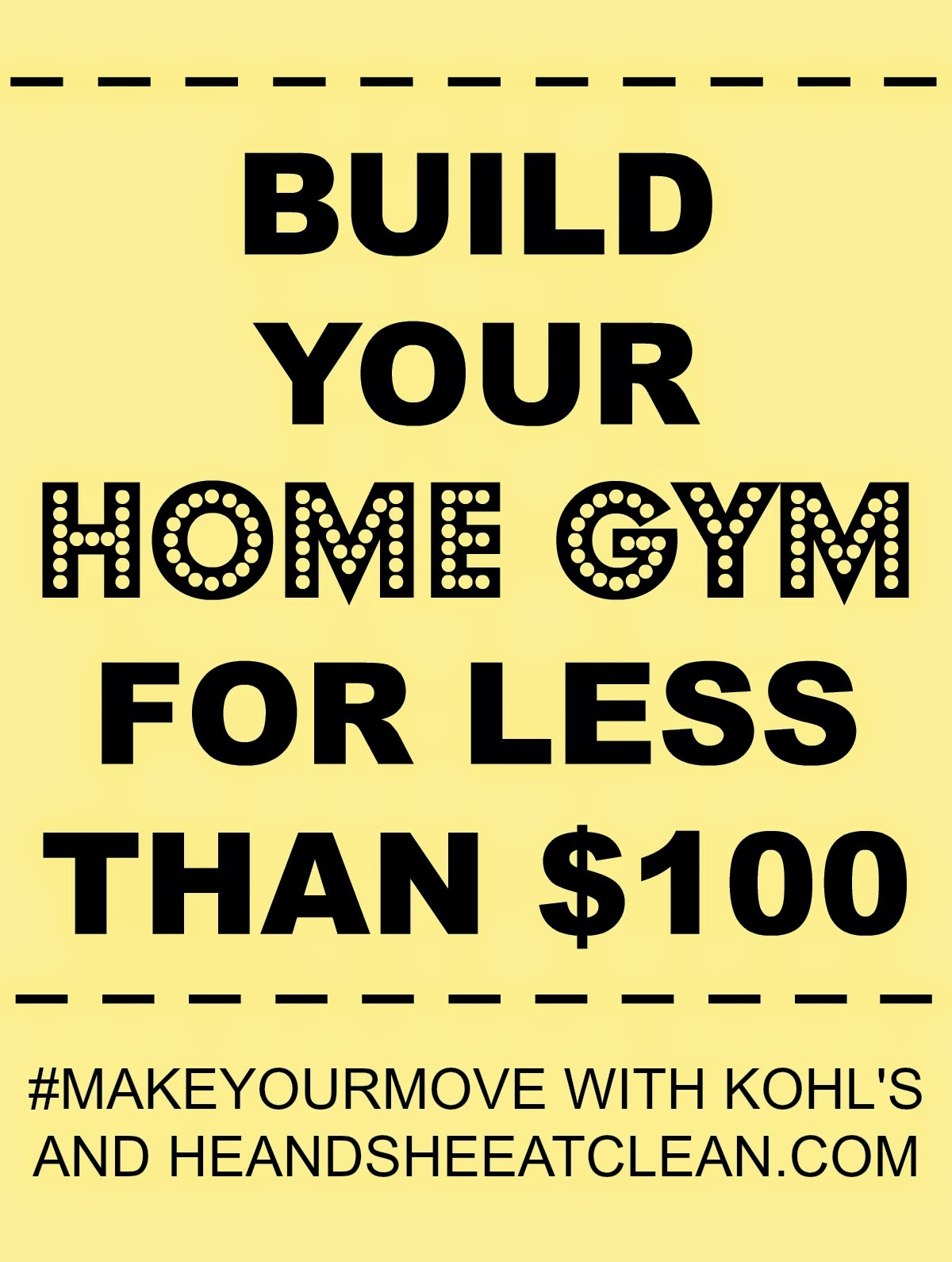 Build your home gym for less than full body at