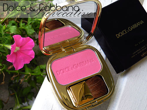 dolce and gabbana provocative blush