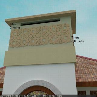 ... alternatif desain dari ornamen masjid yang kami tawarkan pada