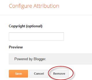Click on Remove