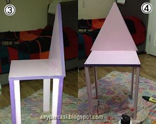 çocuklar için makyaj masası