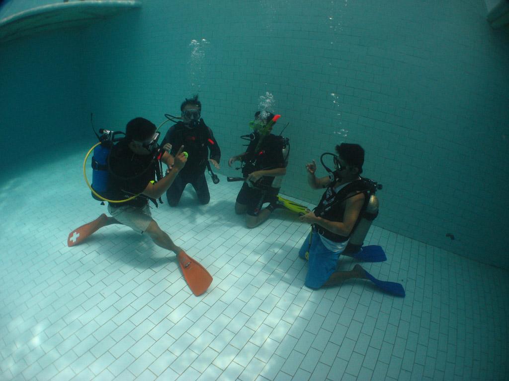 Throwback thursday scuba diving lessons
