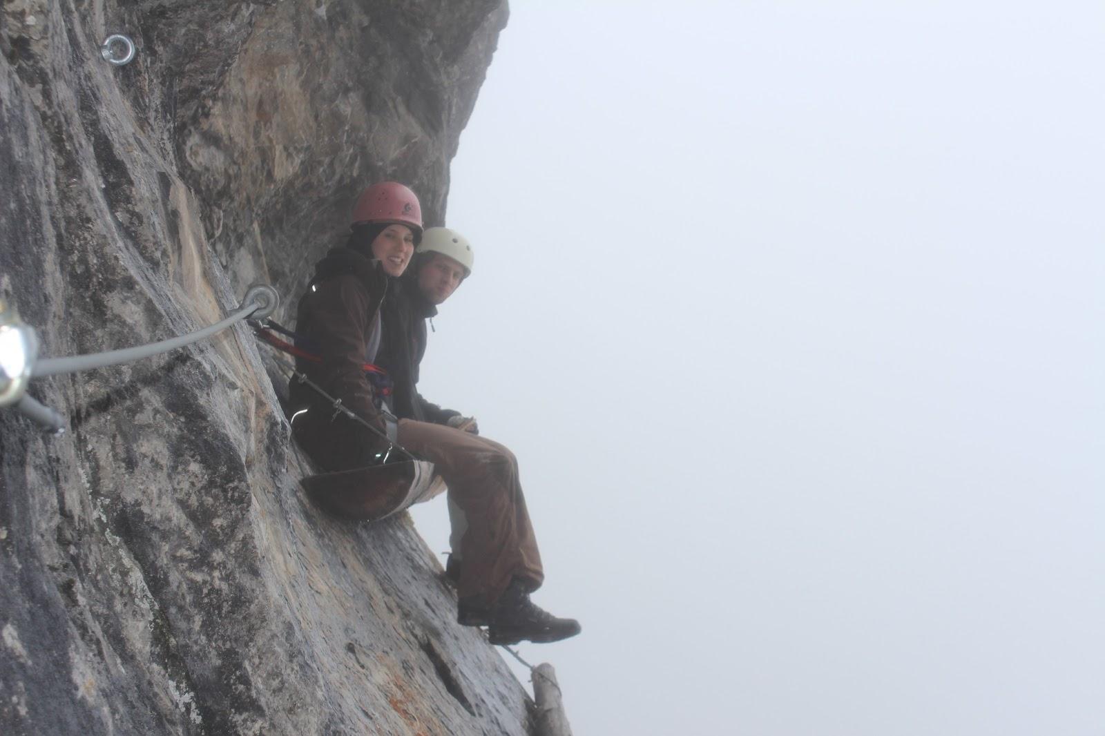 Hexensteig Klettersteig : Klettersteig tierbergli bergsteigen