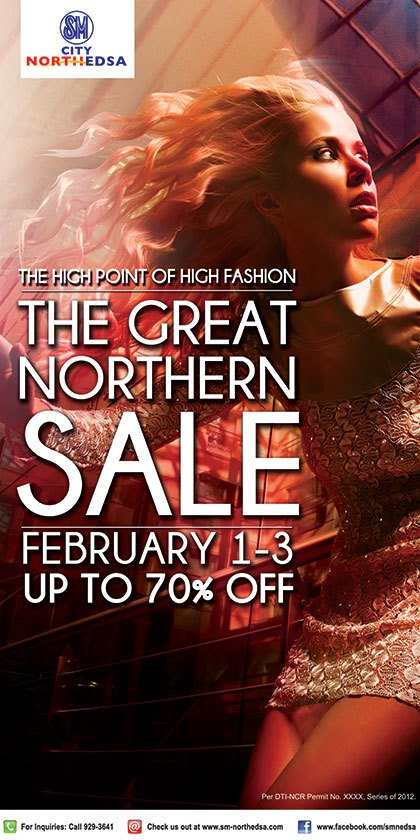 SM City North EDSA Great Northern Sale