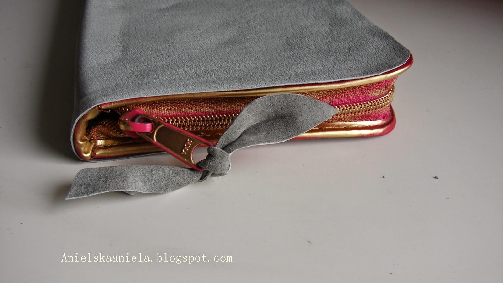 DIY TUTORIAL leather vanity case,clutch bag,pencil case  skórzany piórnik,kosmetyczka,kopertówka diy