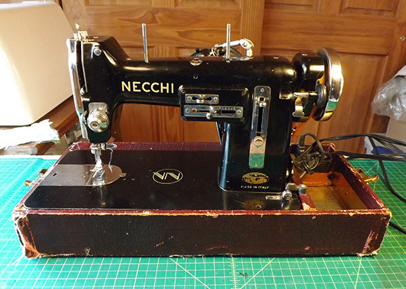 ClaireSandersnet 40 Years With My Riccar RE 40 Sewing Machine Unique Old Necchi Sewing Machine