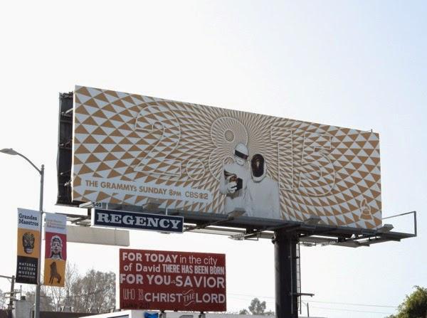 Daft Punk 2015 Grammys billboard