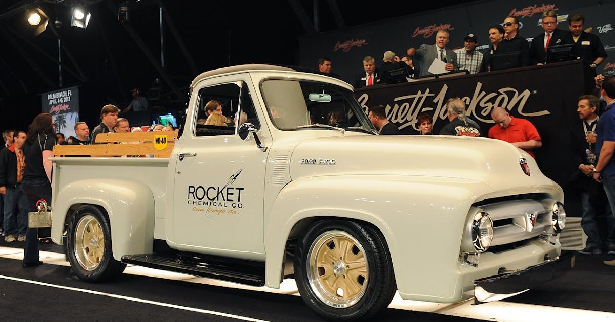 All Cars New Zealand 1953 Ford F 100 By Chip Foose
