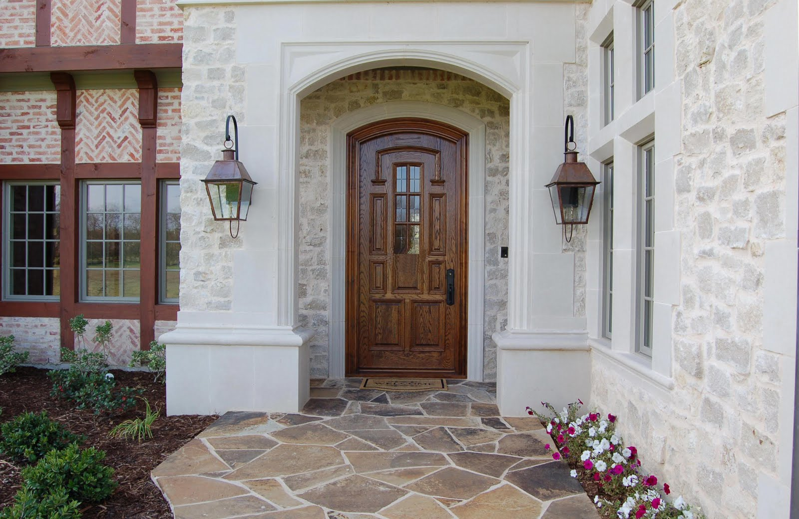 Front doors part 2 b b for Exterior entryway designs