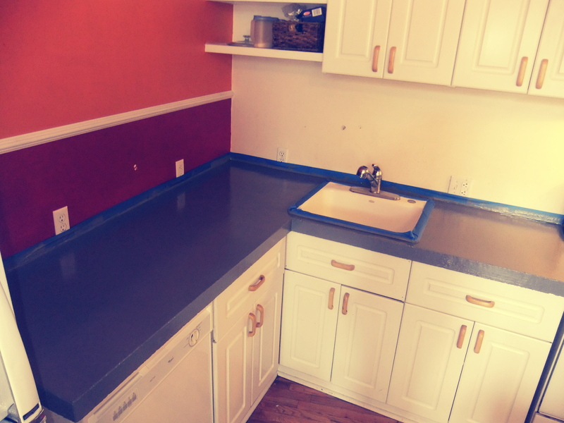 Countertop Coating : Rust Oleum Stoneffects Countertop Coating http://thriftary.blogspot ...