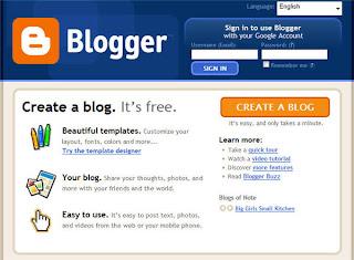 pasos para hacer un blog pagina inicio blogger