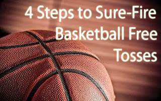 4 steps to sure fire basketball free throws