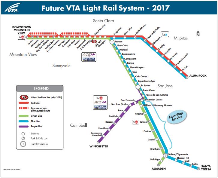The San Jose Blog: VTA Light Rail Turns 25!