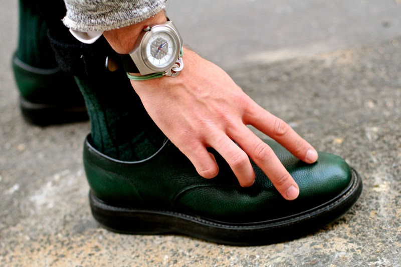 Sismeek montre watch - Royalties Paris socks chaussures - Church's Leyton Shoes Chaussures - BLOG MODE HOMME MENSFASHION