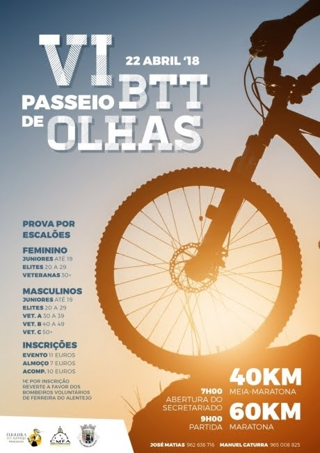 22ABR * OLHAS – FERREIRA DO ALENTEJO