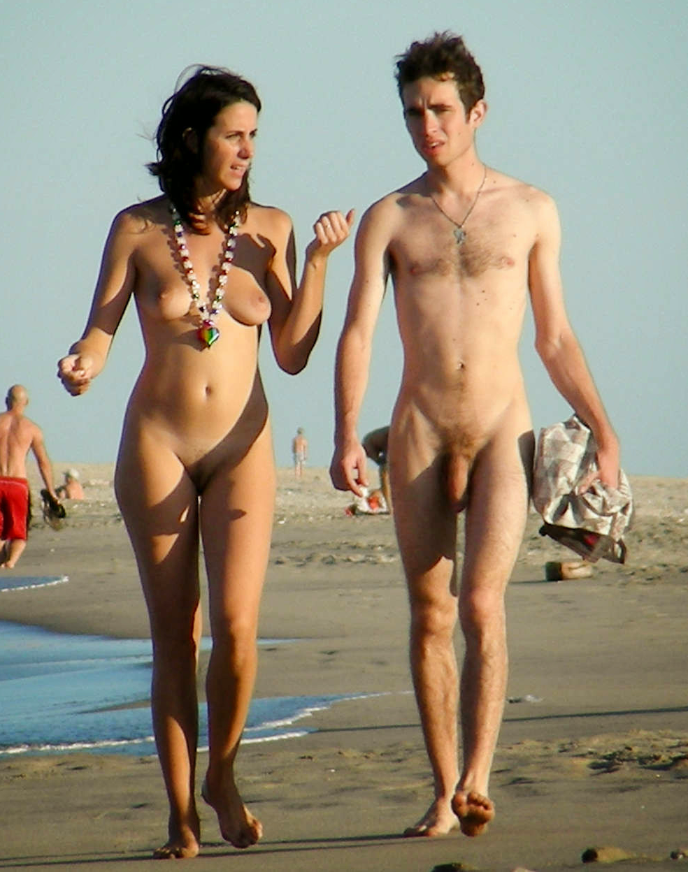 young and mature naturist naturist nudist