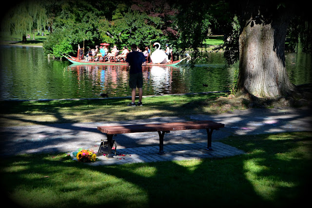 Good Will Hunting, Bench, Boston Public Garden, Boston, Massachusetts, seat