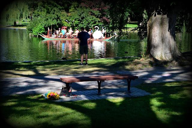 Good Will Hunting, Bench, Boston Public Garden, Boston, Massachusetts, seat