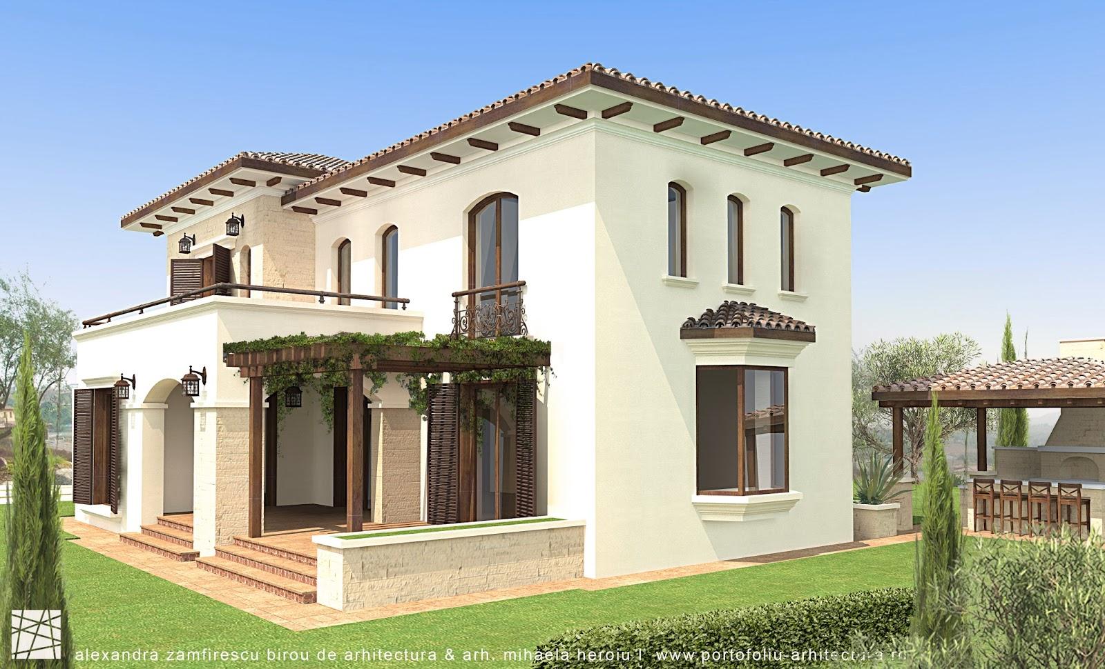 Proiecte case cu etaj proiecte de case arhitectura for Case cu etaj
