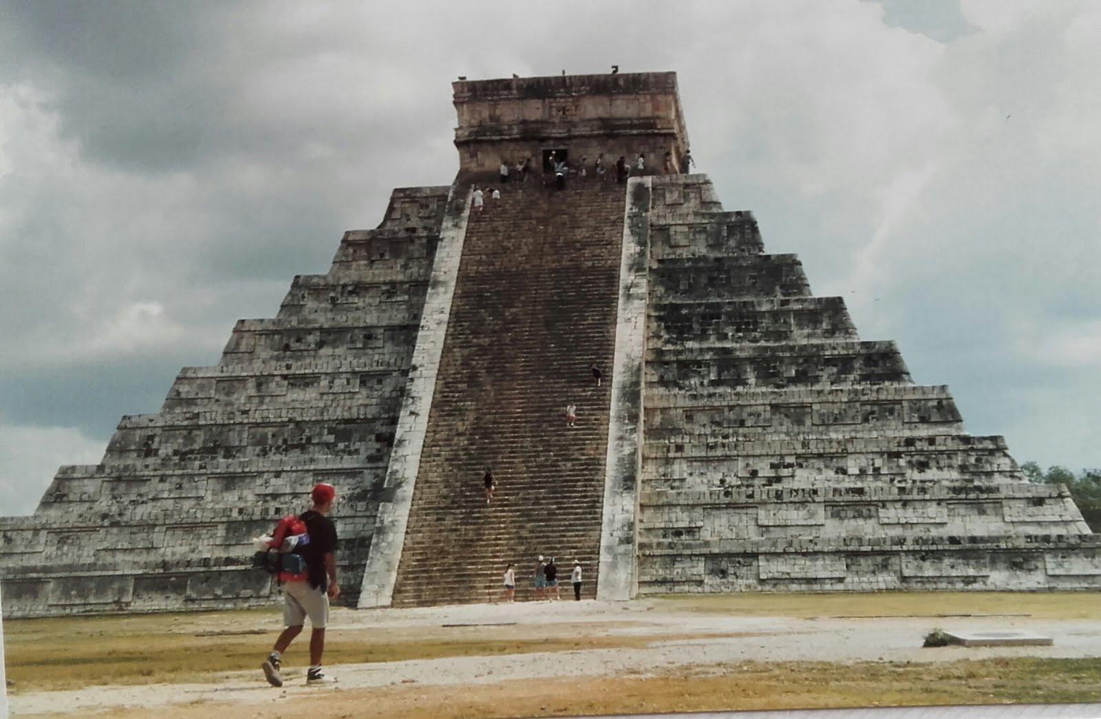 1996, Chichen-Itzá (Méjico)