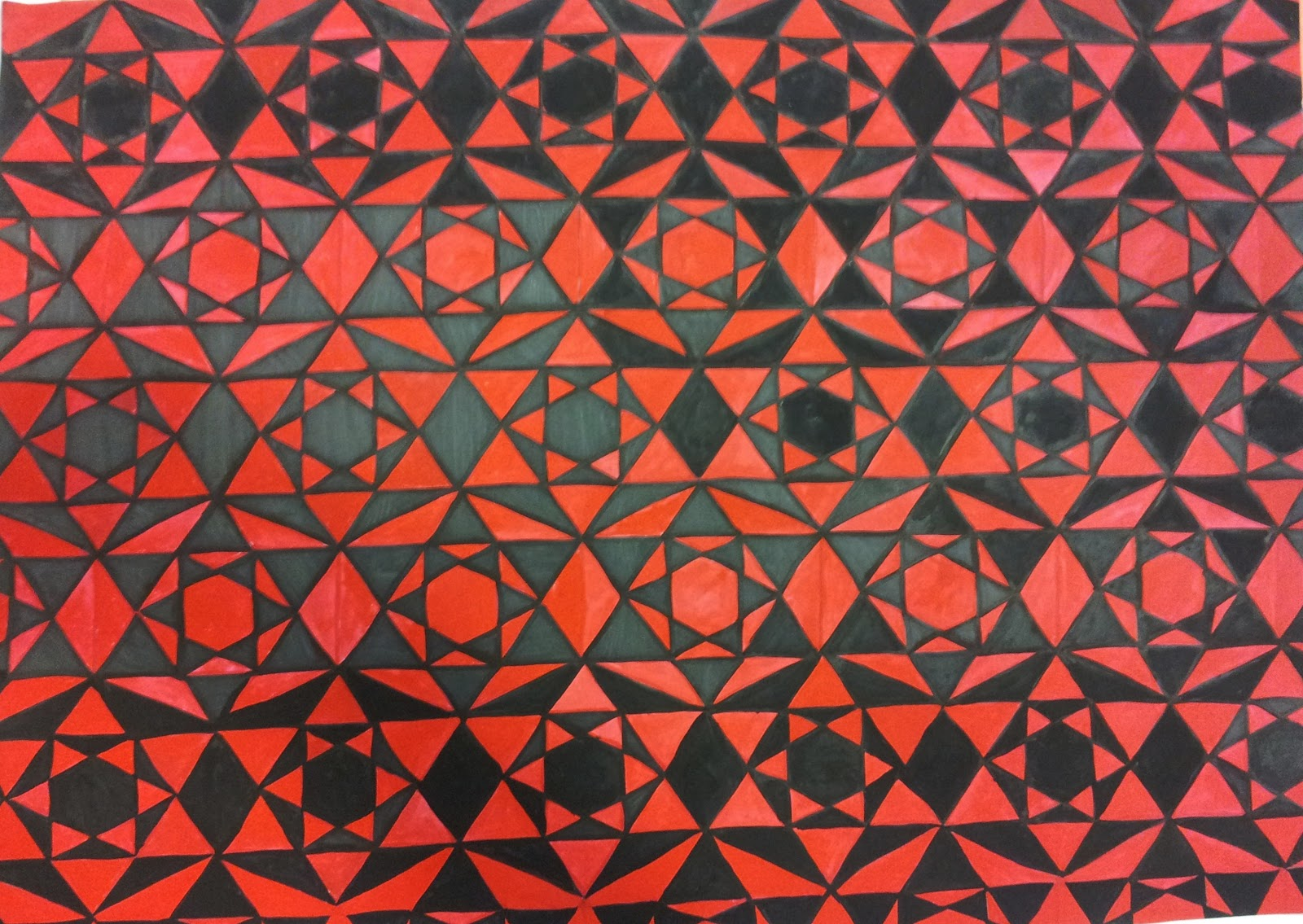 Hot Christmas: Tessellation (My work)