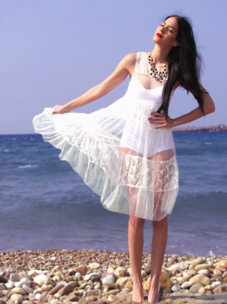 Street Style, Fashion Blogger, All white outfits, fashion bloggers, white coverup, white lace