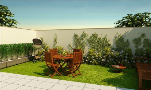 Coisas da k tia quintal decorados for Casas e jardins simples