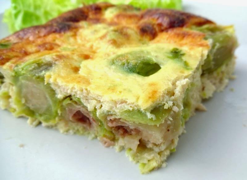 Gourmande ou passionn e flan de choux de bruxelles et - Cuisiner du jambon blanc ...
