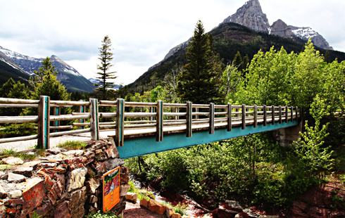 red rock canyon waterton alberta rocky mountains travel photography