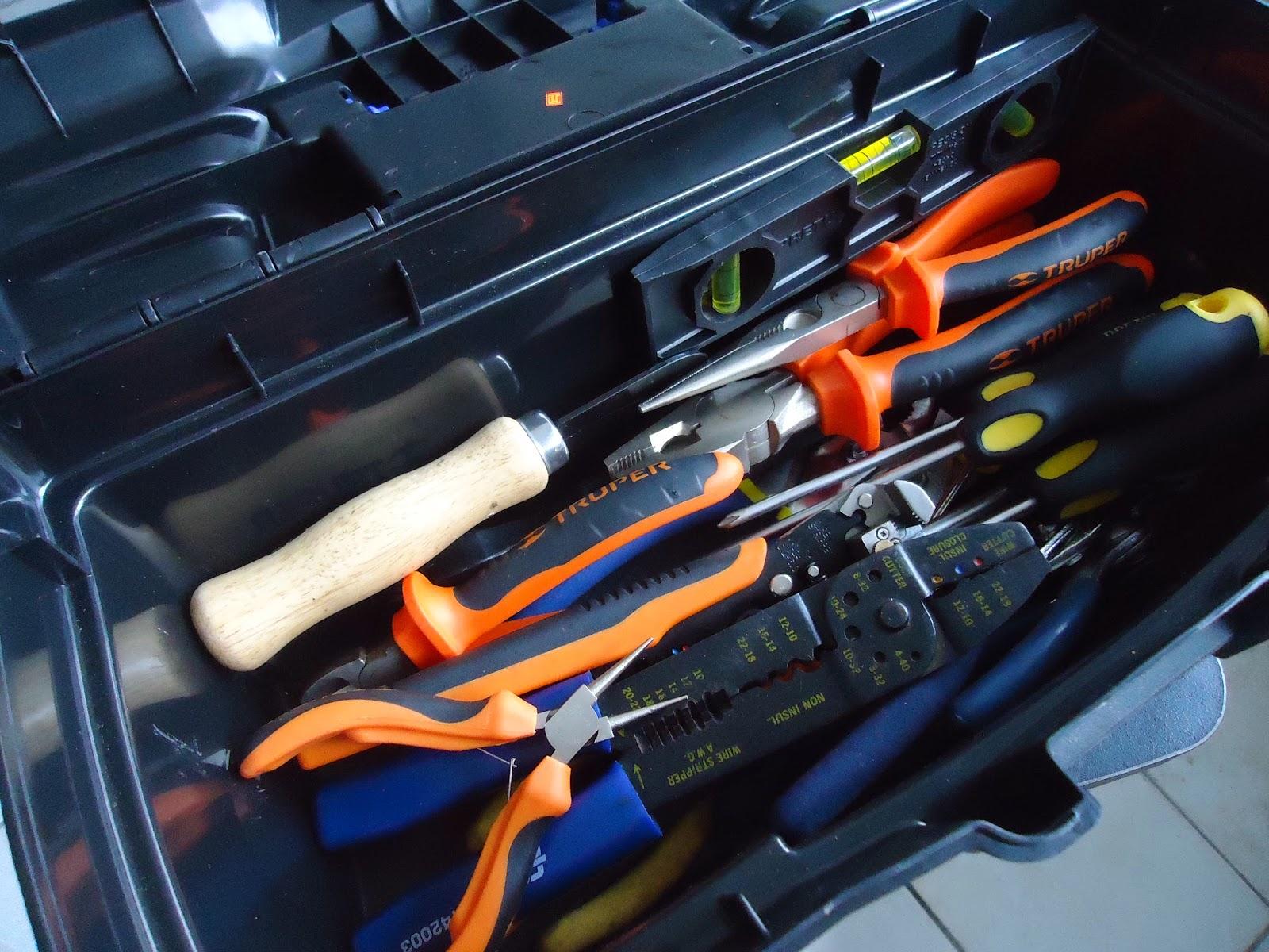 Instalaciones eléctricas residenciales - herramientas