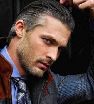 aqu las mejores imgenes de cabello gris o canas en los hombres como fuente de inspiracin