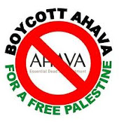 I Boycott Stolen Beauty of Ahava