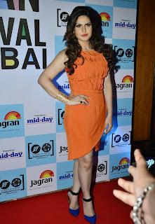 Zarine Khan Elli Avram Sonal Chauhan Neha Dhupia Clauidia Ciesla and other at 5th Jagran Film Festival 2014