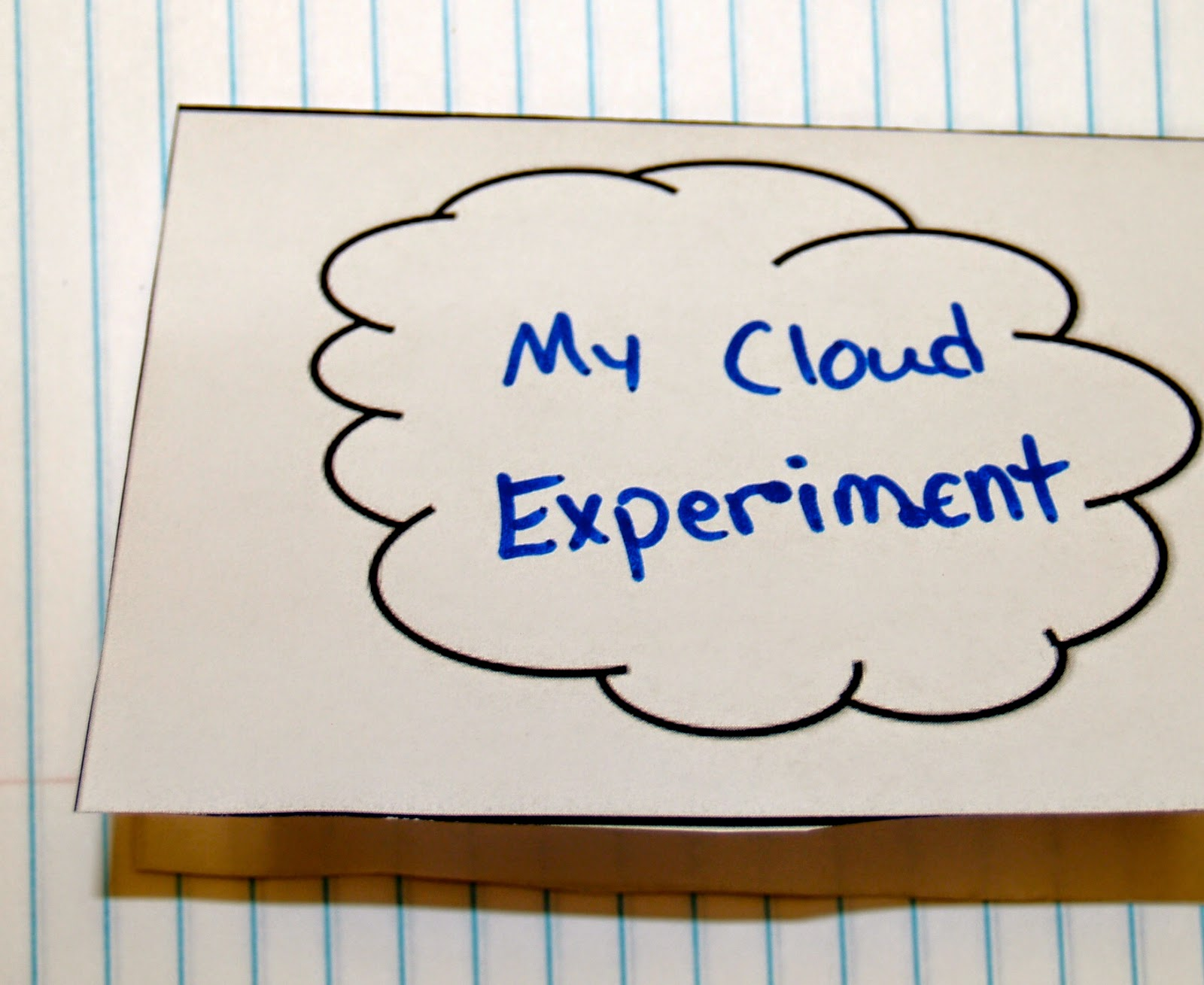 Teaching science with lynda make a rain cloud in a cup with a free cloud experiment lesson robcynllc Gallery