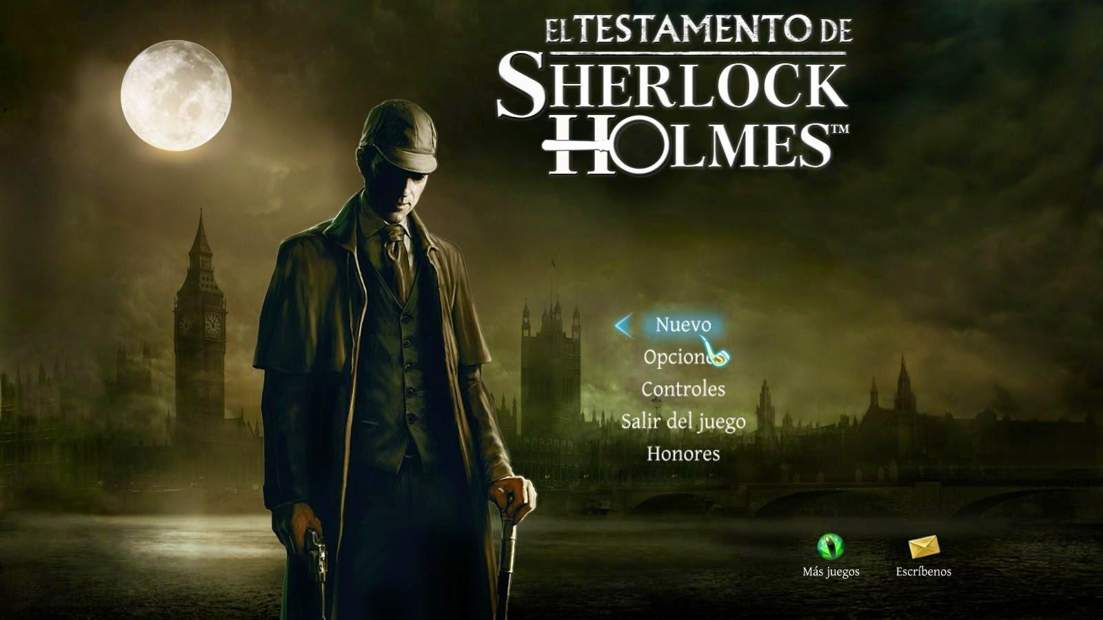 El Testamento De Sherlock Holmes Multilenguaje [MEGA]