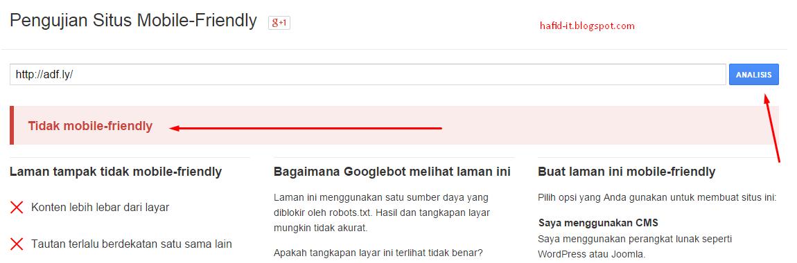 gagal responsive website
