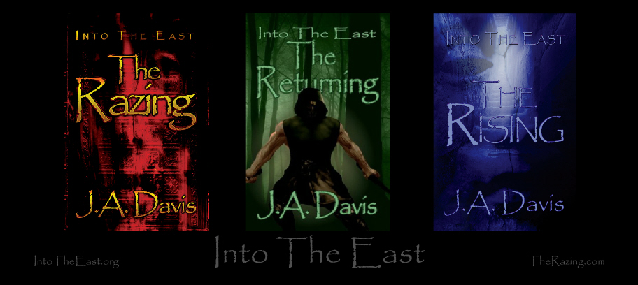 Into The East Novel Series