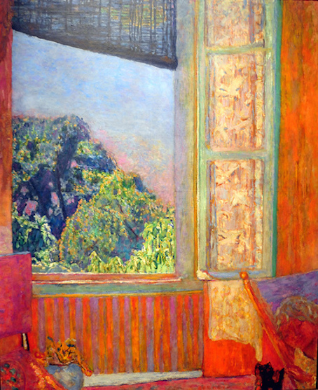 Les points suspendus copies non conformes for Pierre bonnard la fenetre ouverte