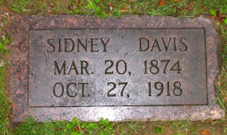 Sidney Davis Gravestone