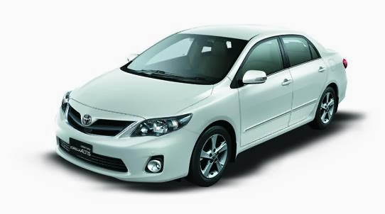 Mobil Sedan Corolla Altis Terbaru (Grand New)
