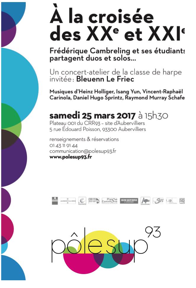 concierto F. Cambreling en marzo