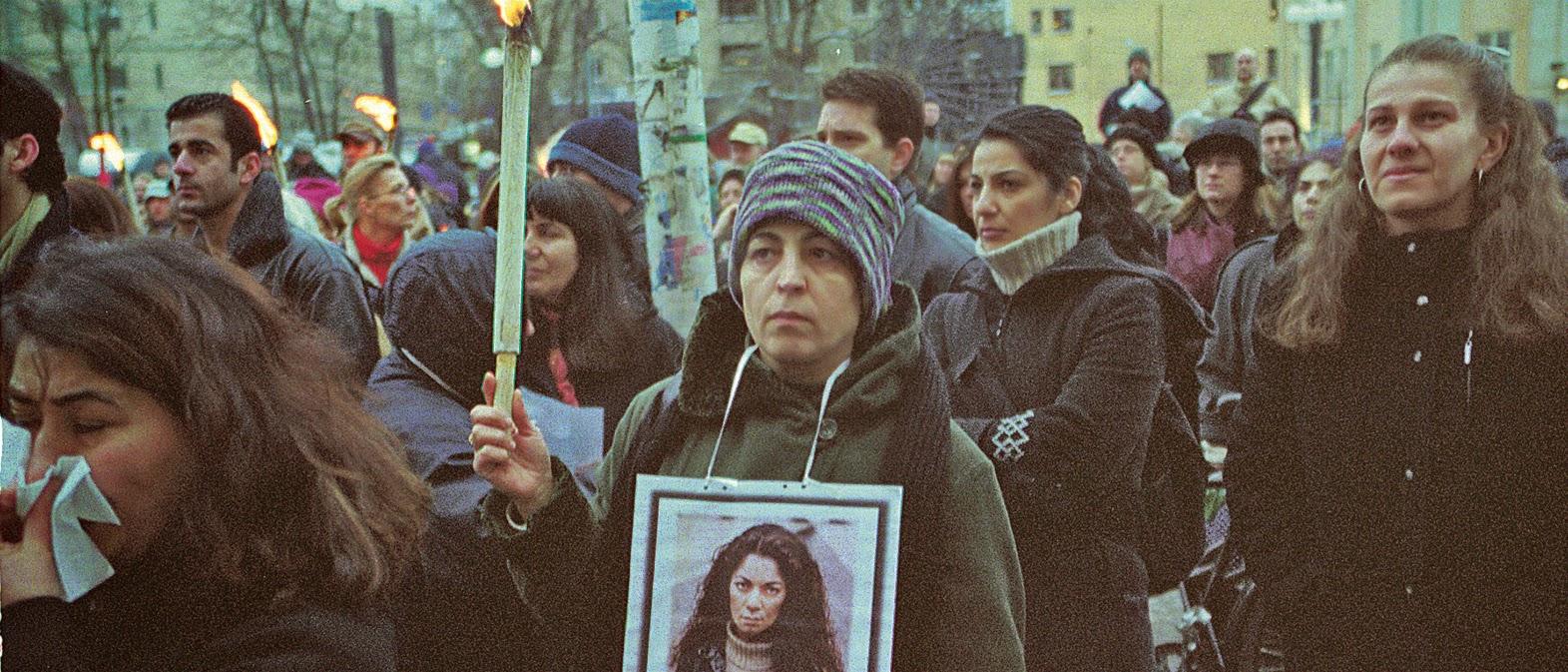 Stoppa mäns våld mot kvinnor, sexuella trakasserier & förtryck i hederns namn