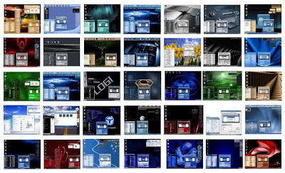 Free download windows xp themes collection