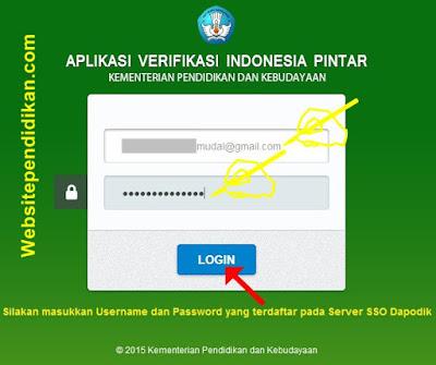 Cara Login di Aplikasi Verifikasi Indonesia Pintar