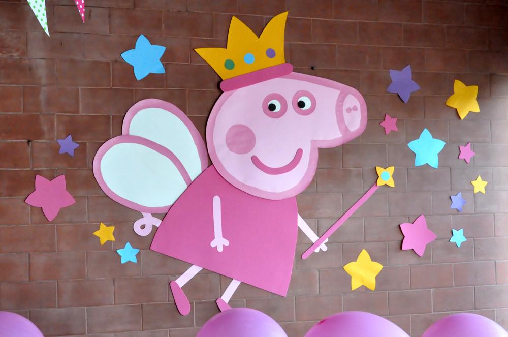 Decoracion Cumplea?os Peppa Pig ~   para decorar un cumple infantil con tem?tica Peppa Pig princesa