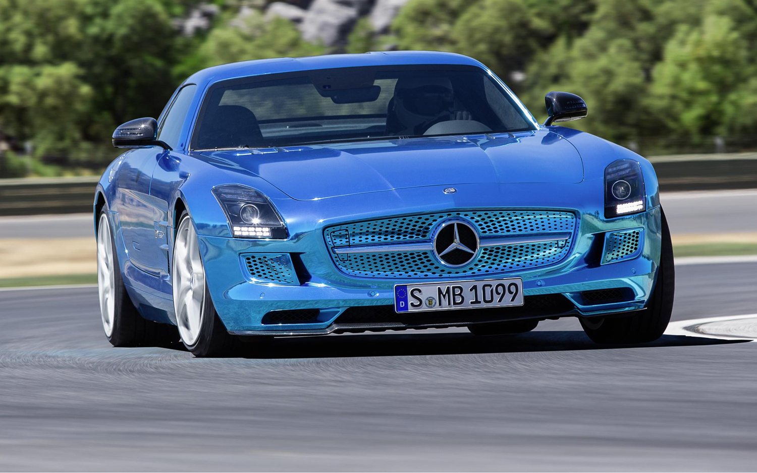 mercedes benz sls amg electric drive new cars reviews