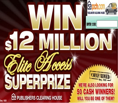 PCH.com/w73 - Enter to win $12M Super Prize