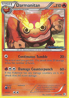 Darmanitan Boundaries Crossed Pokemon Card