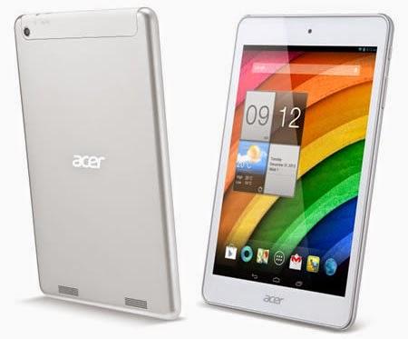 Harga dan Spesifikasi Acer - Iconia A1-830 2014
